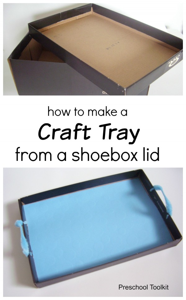 DIY craft tray