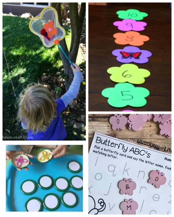 Butterfly themed games for kids