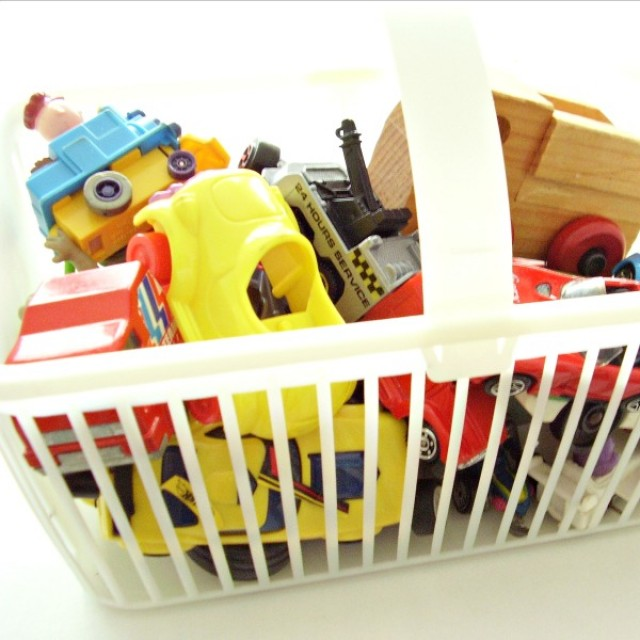 Easy organizing and storing tips for small toys and small parts