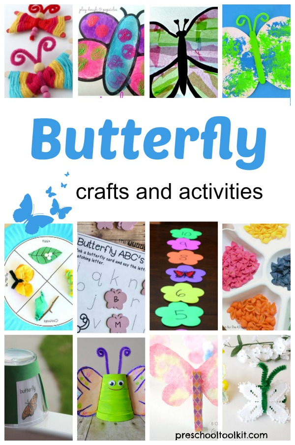 Butterfly crafts and activities for preschoolers