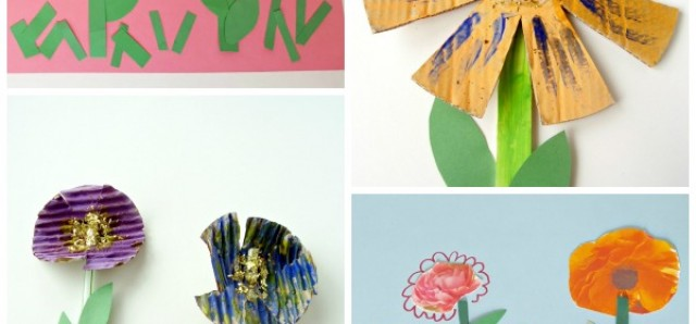 Beautiful flower crafts and activities and for preschoolers to do at home or in the classroom - Preschool Toolkit