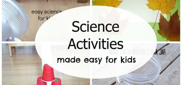 5 favorite science activities for kids