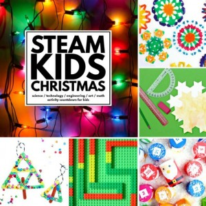 Christmas gift idea STEAM Kids Christmas activities
