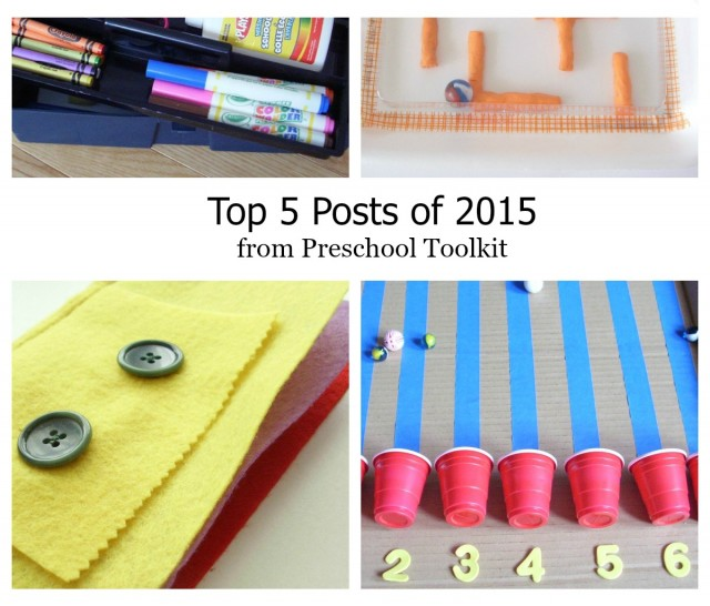 top 5 preschool toolkit