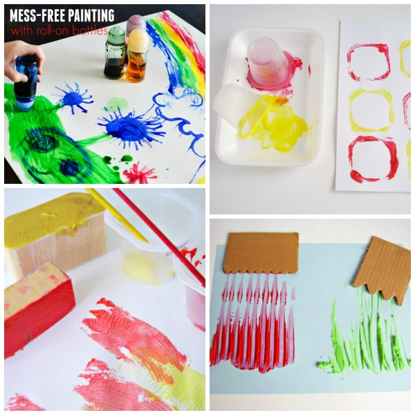 14 Homemade Painting Tools For Preschool Painting Activities Preschool Toolkit