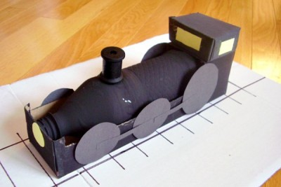 Locomotive kids craft